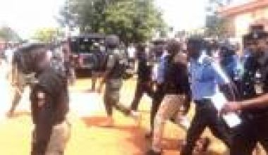 Gov, 3 deputy govs run for cover as police shoot teargas to disperse unruly Kano Pillars fans