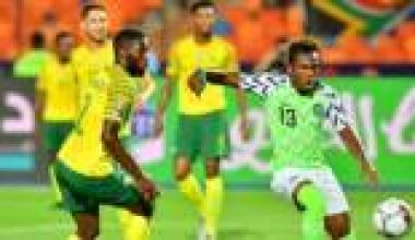 Nigeria eliminate South Africa to qualify for AFCON semi-finals